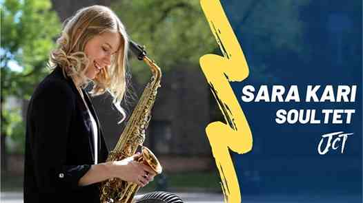 SARA KARI Soultet // Soul Jazz from Finland eventi Torno eventi CO