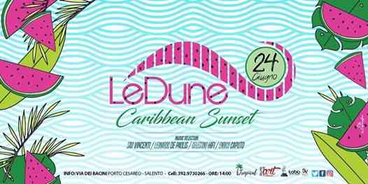 Le Dune Beach Club Aperitif and More eventi Porto Cesareo eventi Lecce
