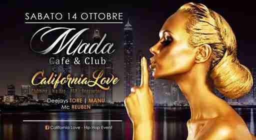 California Love eventi Vicenza eventi Vicenza