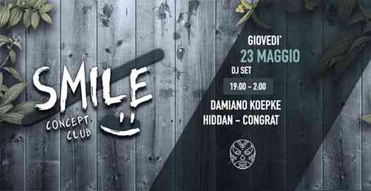 SMILE Concept Club Closing Act at Coffee Pot Trastevere eventi Roma eventi RM