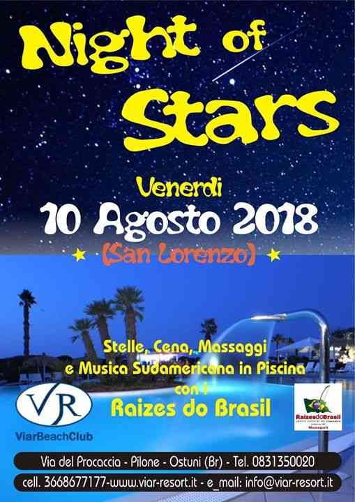 Viar Beach Club eventi Ostuni eventi Brindisi