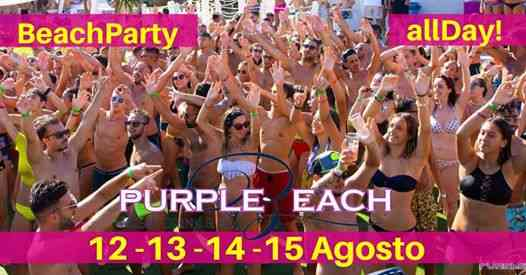 Purple Beach Monopoli eventi Monopoli eventi Bari