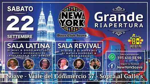 New York Disco Club Soave eventi Soave eventi Verona