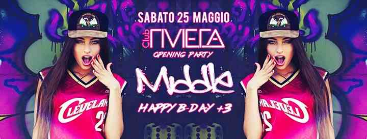Middle Opening Party @Riviera Club eventi Rosolina eventi RO