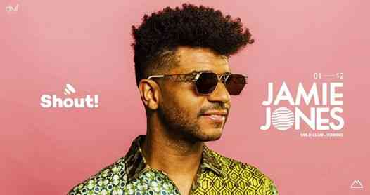 Shout! w/ Jamie Jones eventi Torino eventi TO