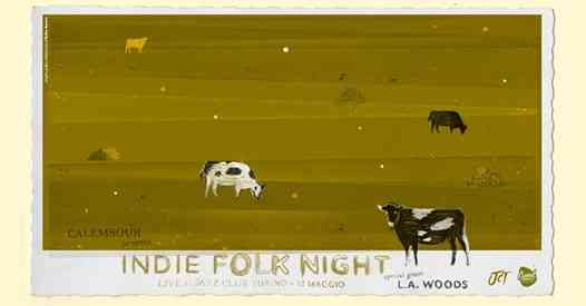 INDIE FOLK NIGHT | Calembour presents L.A. Woods eventi Torno eventi CO