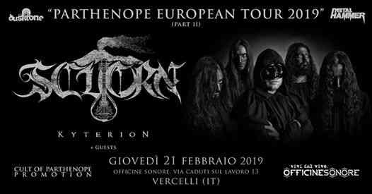 Scuorn [IT] / Kyterion [IT] + guests live in Vercelli (IT) eventi Vercelli eventi VC