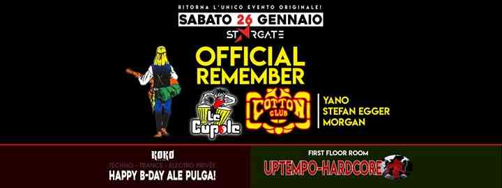 Official Remember Le Cupole - Cotton Club @Stargate eventi Castagnaro eventi VR