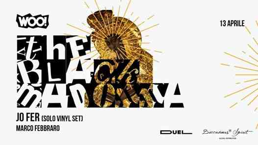 WOO! presenta The Black Madonna eventi Pozzuoli eventi NA