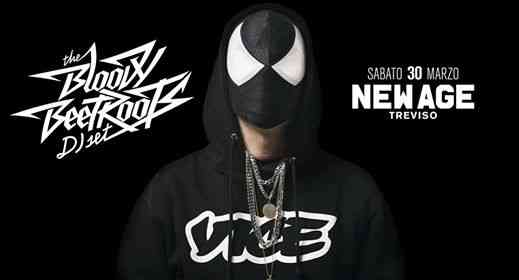 The Bloody Beetroots dj set • New Age Treviso eventi Roncade eventi TV