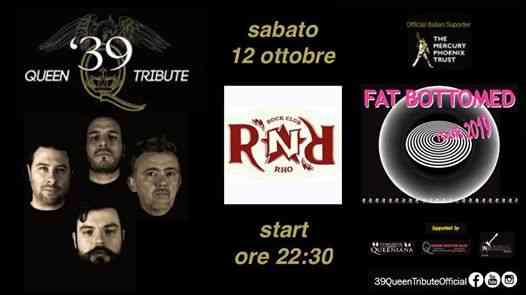 Fat Bottomed Tour 2019 live at Rock n Roll Rho - MI eventi Rho eventi MI