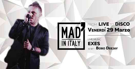 From: Live To: Disco - Exes / Bobo Dj eventi Verona eventi VR