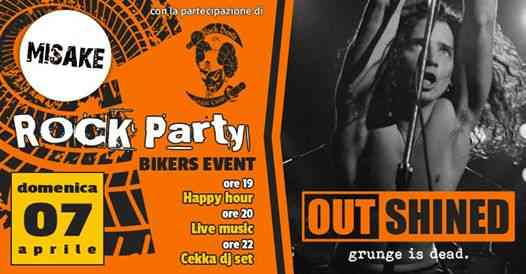 OUTSHINED (90'sRock/Grunge Band) - live @ ROCK PARTY BIKERS eventi Cesena eventi FC