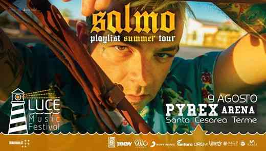 Salmo - Playlist Summer Tour eventi Santa Cesarea Terme eventi LE