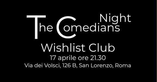 Wishlist Club eventi Roma eventi Roma