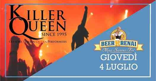 Killer QUEEN at Beerrrenai MUSIC Summer FEST 2019 eventi Signa eventi FI