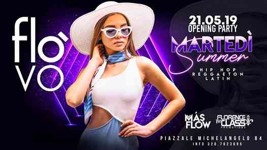 21/05 Opening ☆FLÒ☆ HipHop/Reggaeton/Urban PARTY eventi Firenze eventi FI