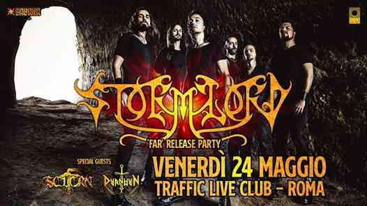 Stormlord - Release Party al Traffic Live Club - Roma eventi Roma eventi RM