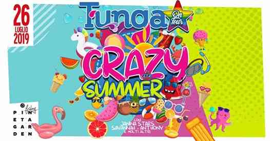 Tunga On Tour -CRAZY SUMMER- eventi Sassocorvaro eventi PU
