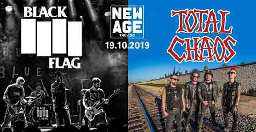Black Flag + Total Chaos • New Age Treviso eventi Roncade eventi TV