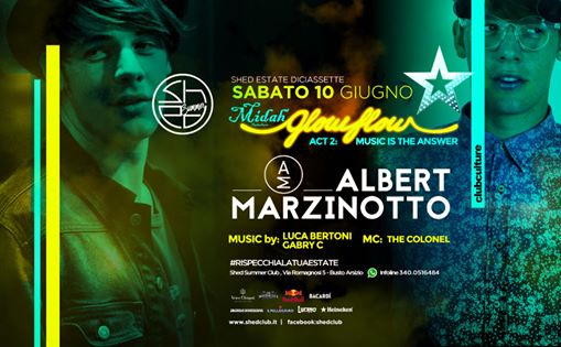 Glow Flow Party act 2: Music Is The Answer eventi Busto Arsizio eventi VA