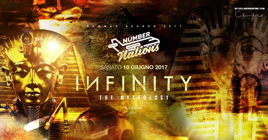 ★ EGYPT ★ Number Nations & Infinity ★ Number One Disco eventi Lecce eventi LE