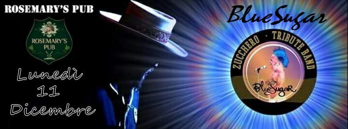 Lun> 11 Bluesugar zucchero tribute band live at rosemary eventi Nicolosi eventi Catania