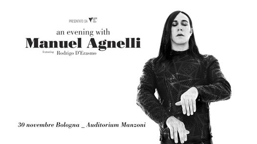 An Evening With Manuel Agnelli | Bologna, Auditorium Manzoni eventi Bologna eventi Bologna