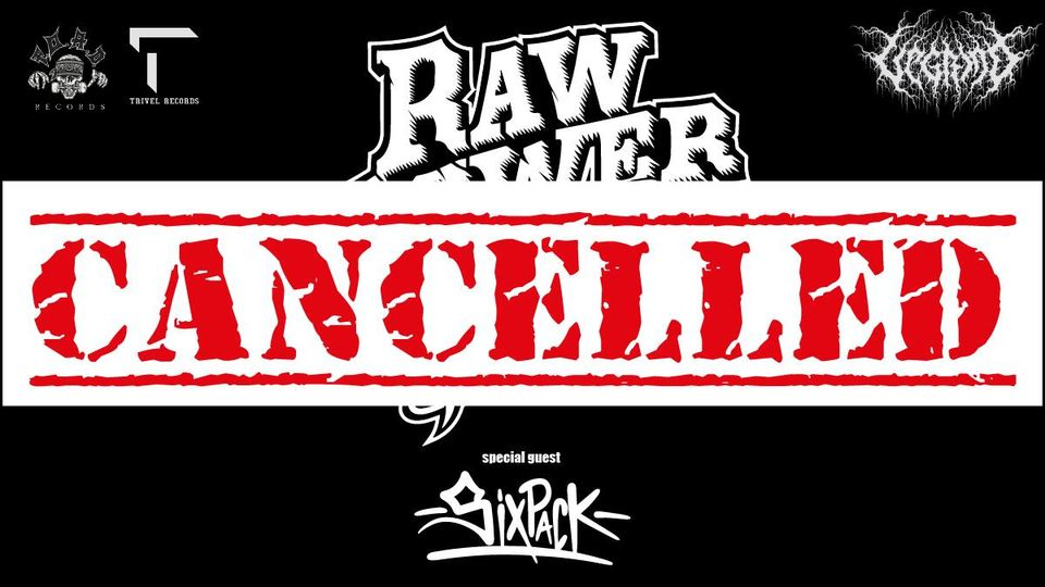 Raw Power + Six Pack live Data Cancellata! eventi Fontanafredda eventi Pordenone