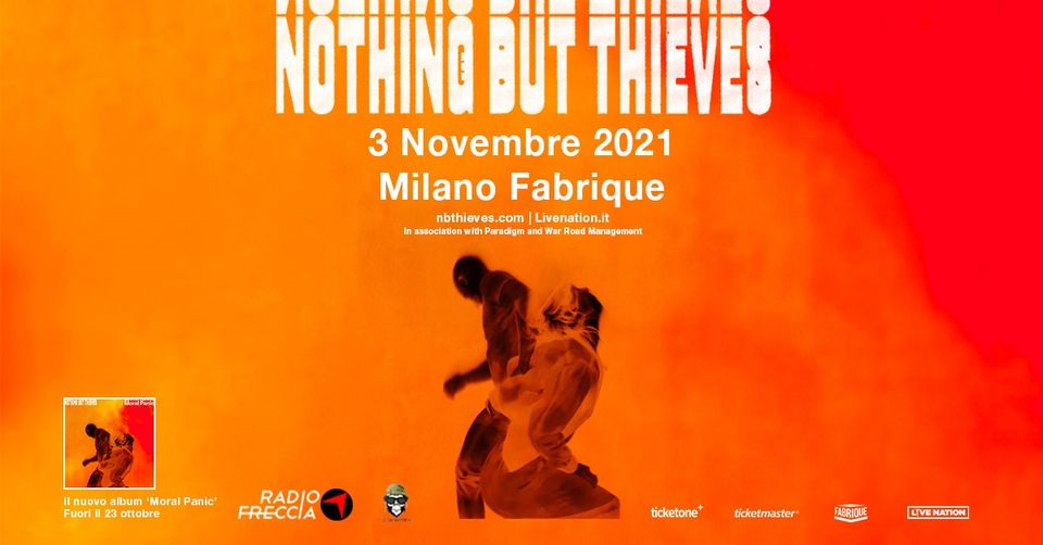 Nothing But Thieves in concerto a Milano eventi Milano eventi Milano