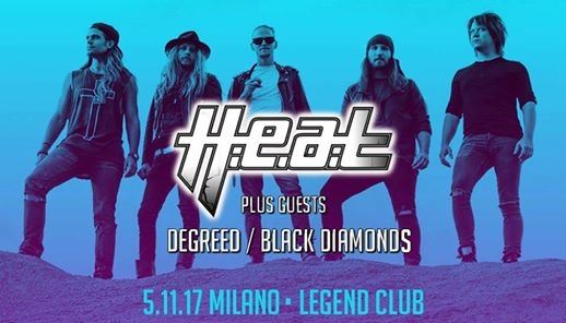 Heat at Legend Club Milano eventi Milano eventi MI