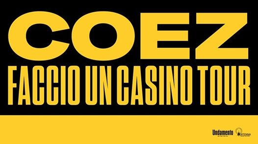 COEZ 2 Novembre SOLD OUT / 3 SOLD OUT / Hiroshima Mon Amour eventi Torino eventi TO
