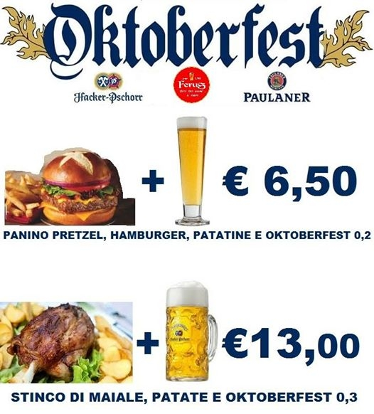 Oktoberfest at FERUS eventi Bisceglie eventi BT