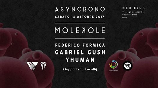ASYNCRONO @ Neo Club eventi Roma eventi RM
