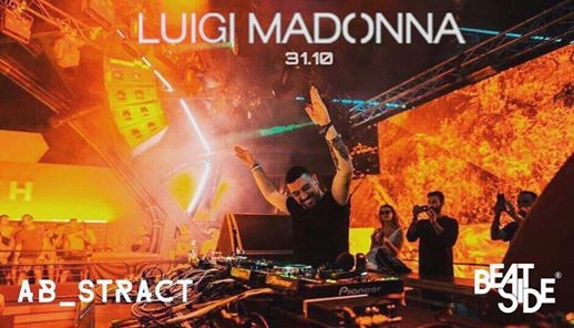 31.10 | ABSTRACT w/ Luigi Madonna - Halloween Edition. eventi Bari eventi BA