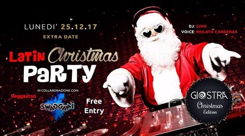LATIN Christmas Party / Free Entry 25 Dicembre eventi Bologna eventi BO