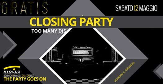 Closing Party season 2017/2018 eventi Senigallia eventi AN
