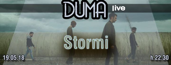 Stormi live at Duma eventi Macerata eventi MC