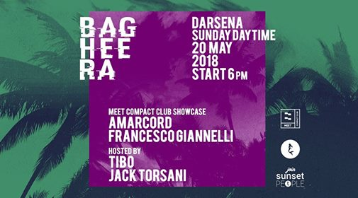Darsena — Bagheera Meet Compact Club Showcase eventi Rimini eventi RN