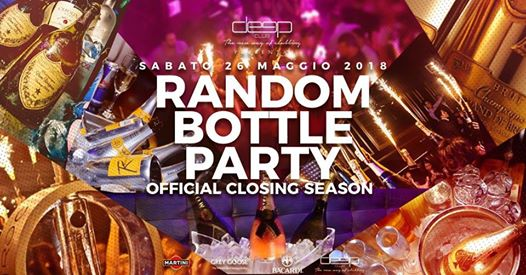 26.05 - Random Bottle Party : Official Closing Season eventi Varese eventi VA