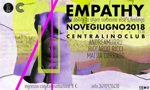 Saturday 9th June - Empathy Night eventi Torino eventi TO