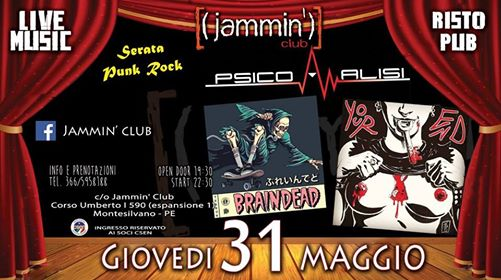 Punk Rock Night@Jammin' Club eventi Montesilvano eventi PE