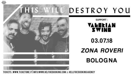 This will Destroy You | Zona Roveri, Bologna eventi Bologna eventi BO