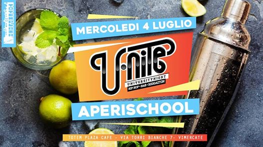U.Nite - Totemplazacafe night – Aperischool eventi Vimercate eventi MB