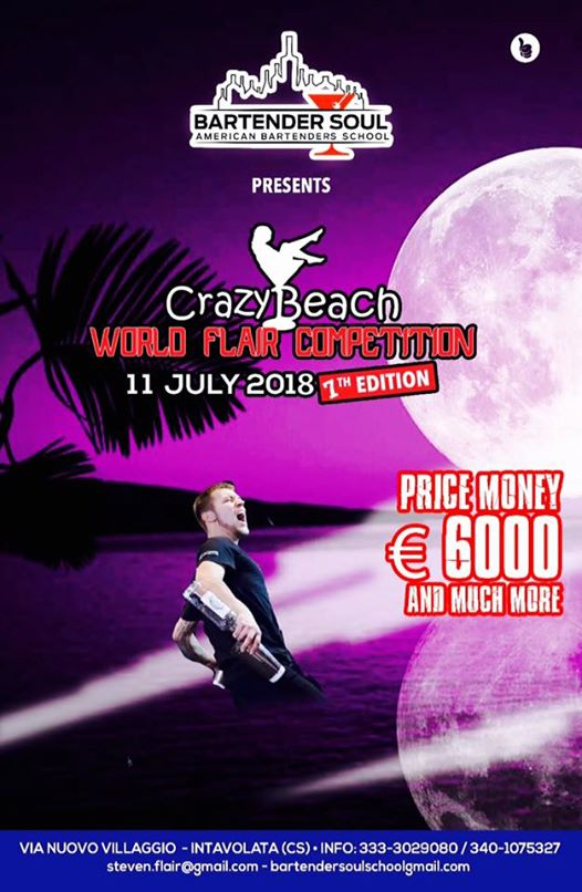 Crazy Beach World Flair Competition eventi Acquappesa eventi CS