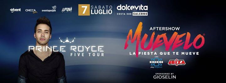 Prince Royce in Concerto a Salerno Five Tour eventi Pontecagnano Faiano eventi SA