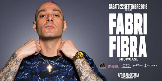 Fabri Fibra at Afrobar Showcase + Afterparty eventi Catania eventi CT