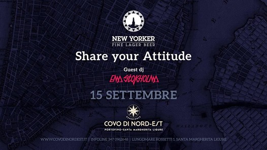New Yorker Party eventi Santa Margherita Ligure eventi GE