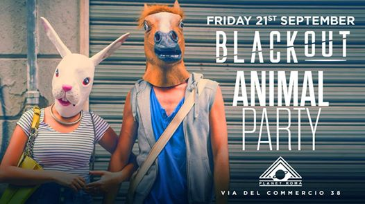 ANIMAL PARTY - 21/09 Opening season - @Planet eventi Roma eventi RM