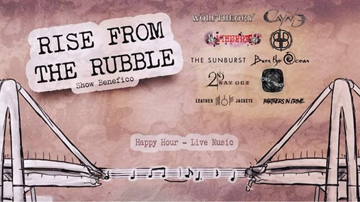 Rise From The Rubble - Show Benefico eventi Milano eventi MI